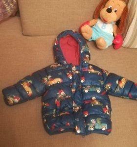 Куртка демисезонная 9-12 месяцев