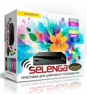Приемник Цифровой эфирный DVB-T2 selenga HD930D