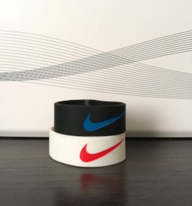 Браслеты силиконовые Nike