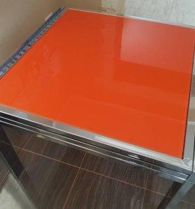 Стол кухонный стеклянный Excel