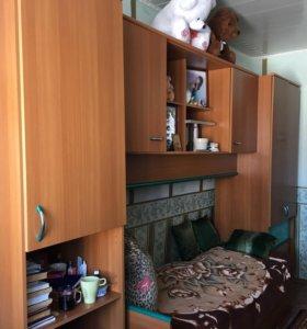 Шкафы+ кровать
