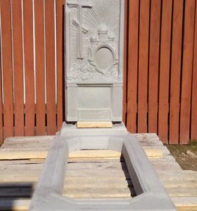 Памятник на могилу крест, церковь