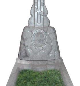 Памятник на могилу крест на тумбе