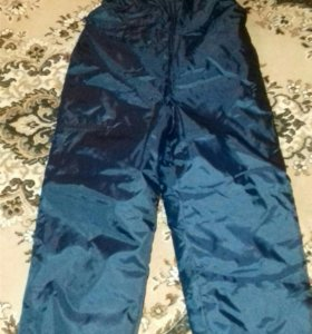 Влагозащитные штаны-комбинезон
