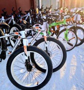 Продажа новых стильных велосипедов в Абакане