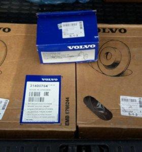 Комплект колодок и дисков на Volvo S80