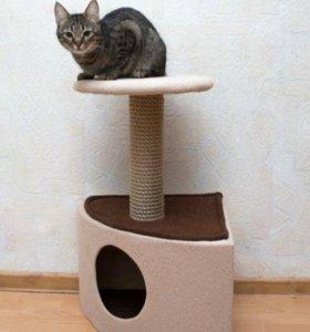 Новый домик когтеточка дом комплекс для кошек