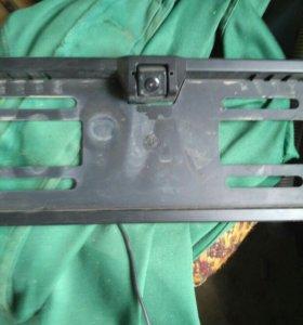 Рамка под номер с камерой