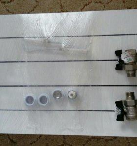 Радиатор алюминиевый (батарея)