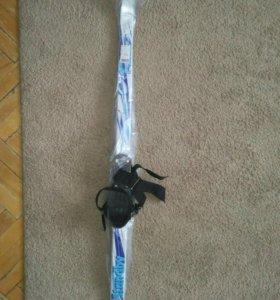 Новые лыжи 110 см