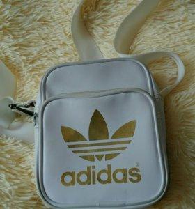 ☑Сумка через плечо Adidas original small