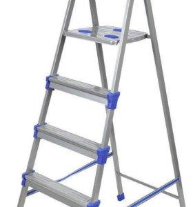 Стремянки металлические от 3х до 8ми ступеней
