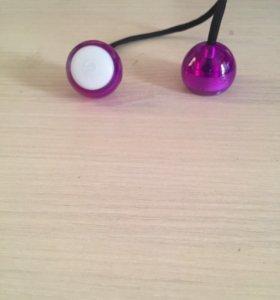 Верёвка с двумя шариками