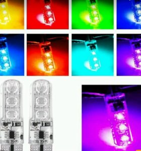 Светодиодные лампы в подсветку фар 🚘