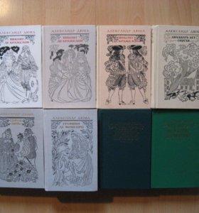 """А. Дюма: """" Граф Монте - Кристо """" и др. книги."""