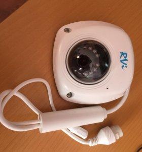 Купольная IP-камера видеонаблюдения