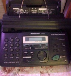 Телефон-факс Panasonic kx-fp158