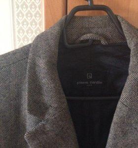 Pierre cardin пальто мужское