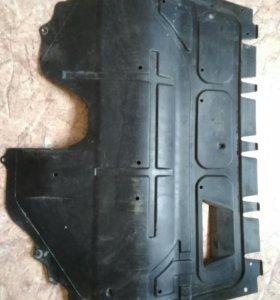 Защита двигателя пластиковая шкода рапид