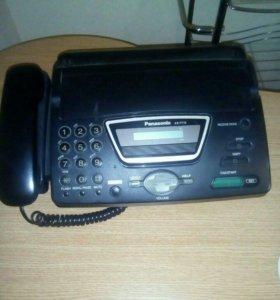 "Телефон-факс ""Панасоник"""