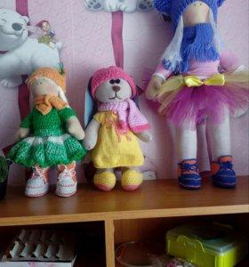 Необычный подарок интерьерная кукла
