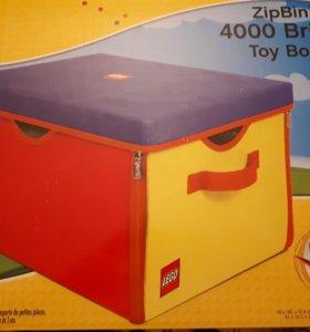 Игровой ящик-коврик Lego
