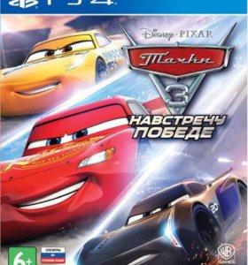 "PS4 ""Тачки 3: Навстречу победе"", новый"