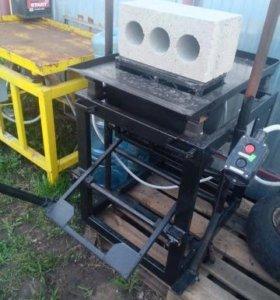 станок для изготовления блоков