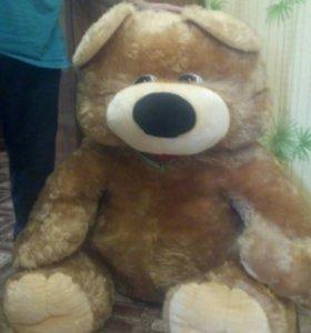 Мягкие игрушки медведь