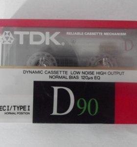 аудиокассеты TDK