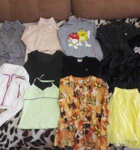 Пакет женской одежды. бу. все за 500