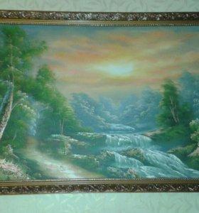 Картина размер 130×70