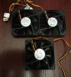 Вентилятор кулер Cooler TC DF0802512SELN 12V 0.1A