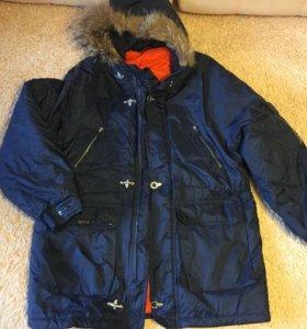 Куртка мужская 52 с нат. мехом