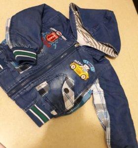 Ветровка джинсовая детская