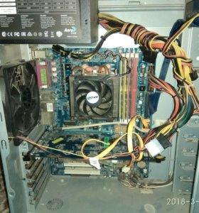 Компьютер пк и монитор