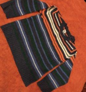 Шерстяной свитерок на мальчика