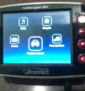 GPS навигатор connect