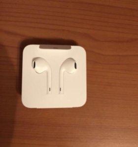 оригинальные проводные наушники Apple Iphone