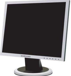 ЖК- монитор Samsung рабочий