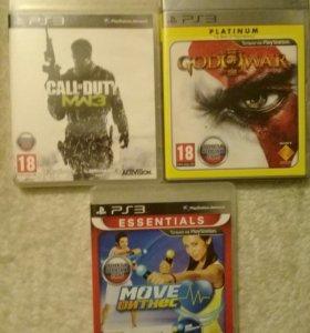 Диски игровые PS 3