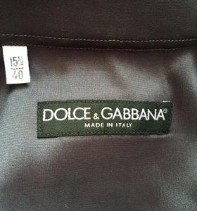 Шелковая рубашка Dolce&Gabbana