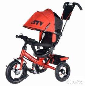 Трёхколёсный детский велосипед City 12-10