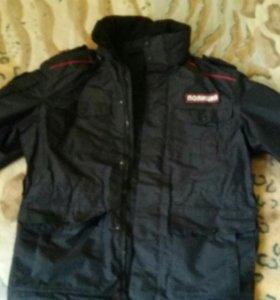 Демисезоная куртка, полиция