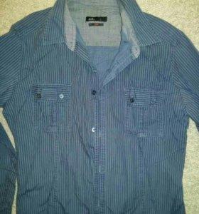 Рубашка для школьника рост 170, S zolla slim