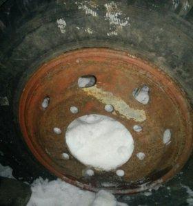 колесо 240-508 r20 8.25 диск 8 дырок