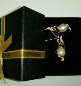Серьги(пара) золото 585 (14K)
