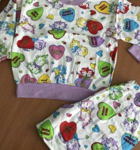 Новая пижама 116