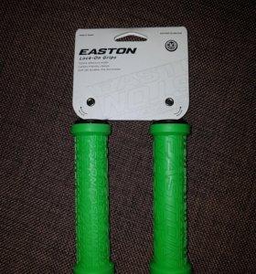 Грипсы велосипедные Easton с фиксаторами