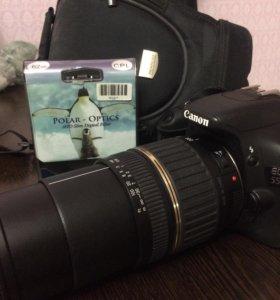 Canon 550d+tamron 18-200
